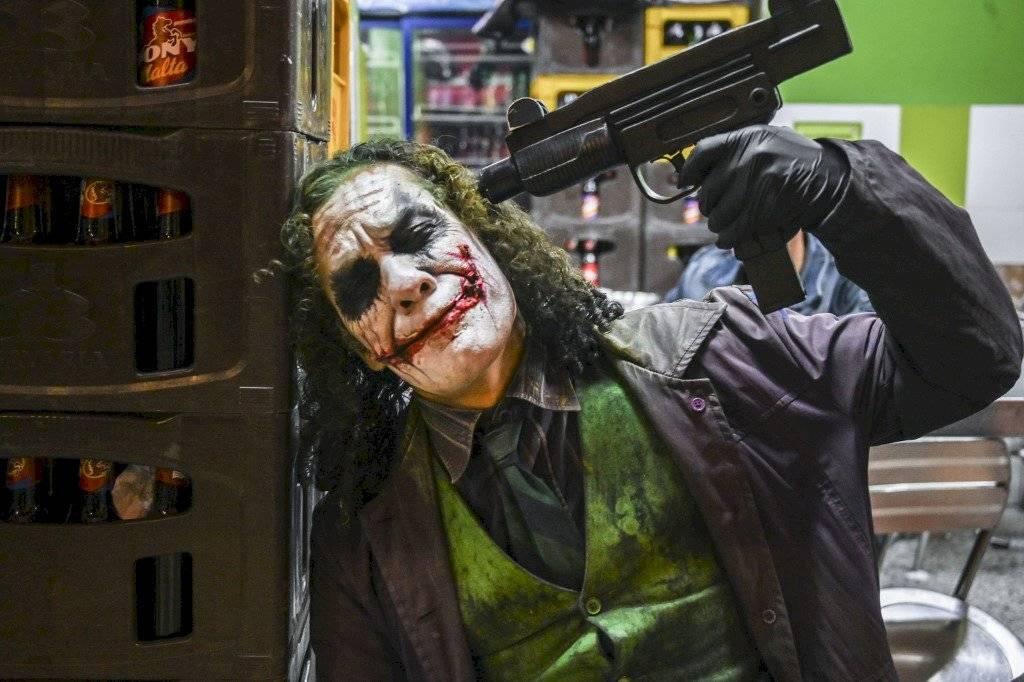 """El venezolano Johnny Tales es el """"Joker"""" en Colombia"""