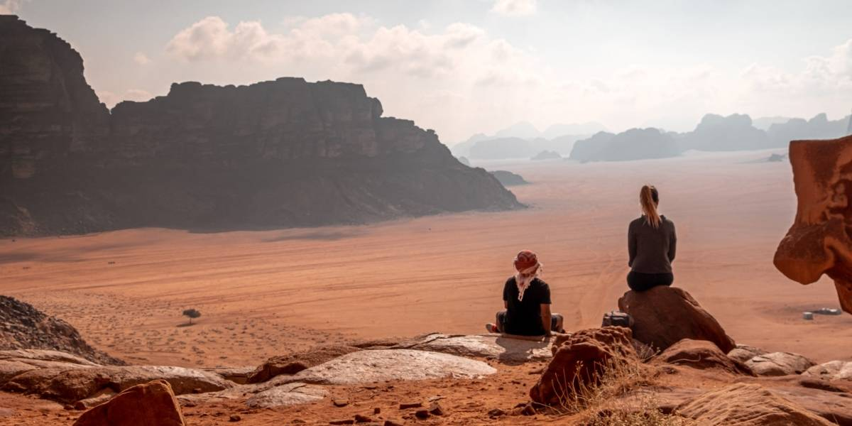Un desierto dramático: Wadi Rum, Jordania