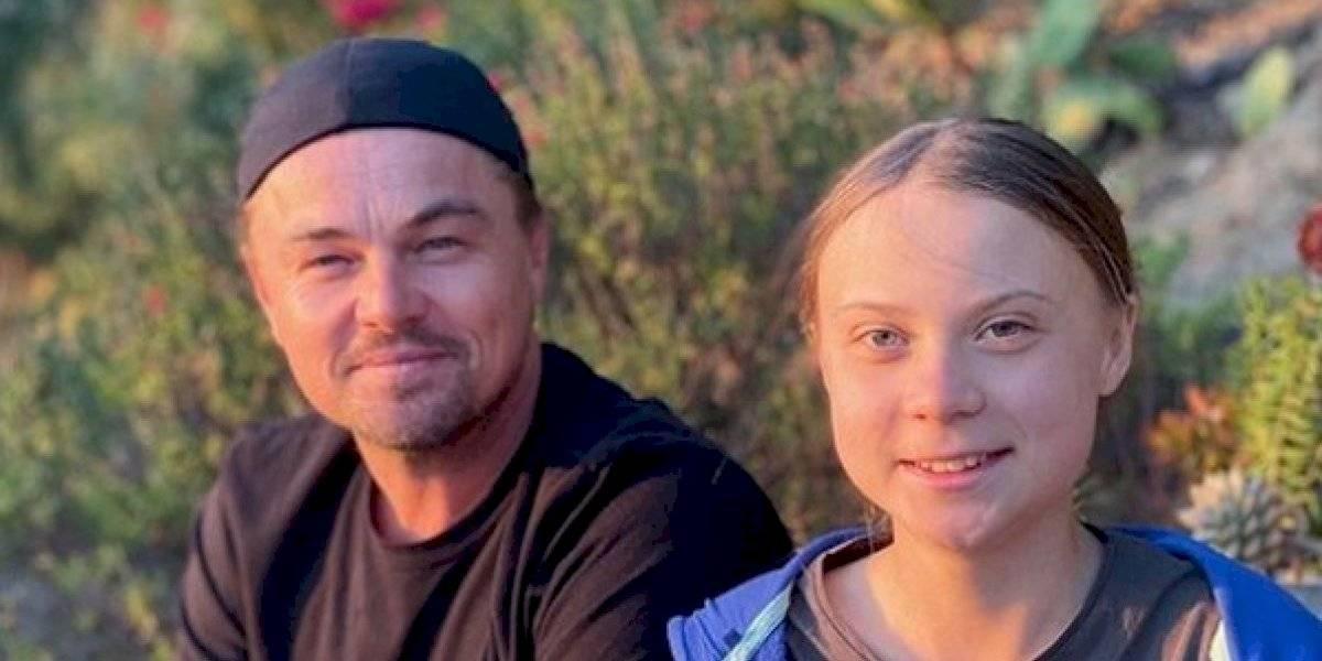 La promesa de Leonardo DiCaprio a Greta Thunberg