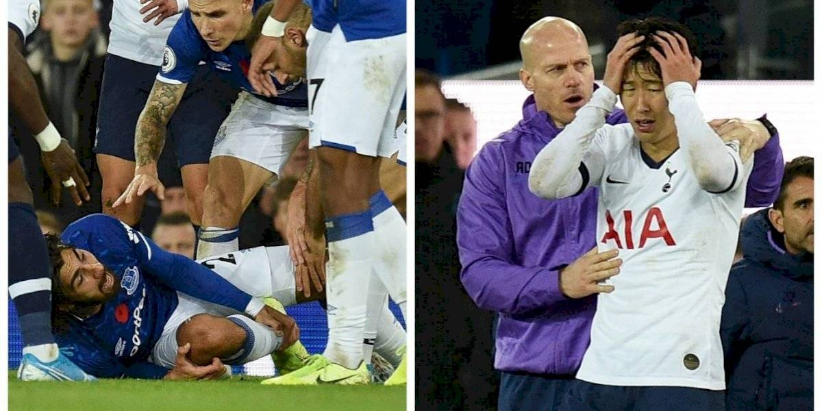 VIDEO. Terrible lesión de André Gomes y la desgarradora imagen de Heung Min Son