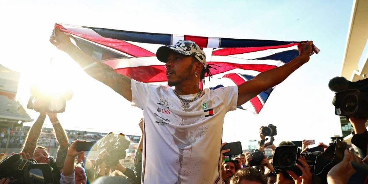 VIDEO. Lewis Hamilton conquista su sexto título mundial de Fórmula 1