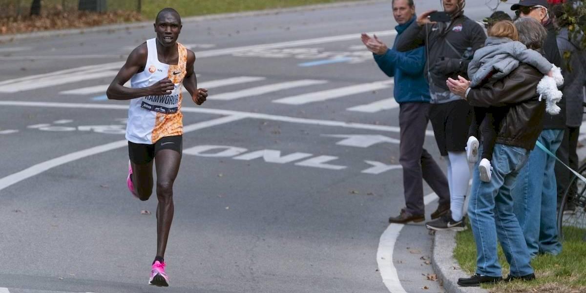 Kenianos se imponen en el Maratón de Nueva York