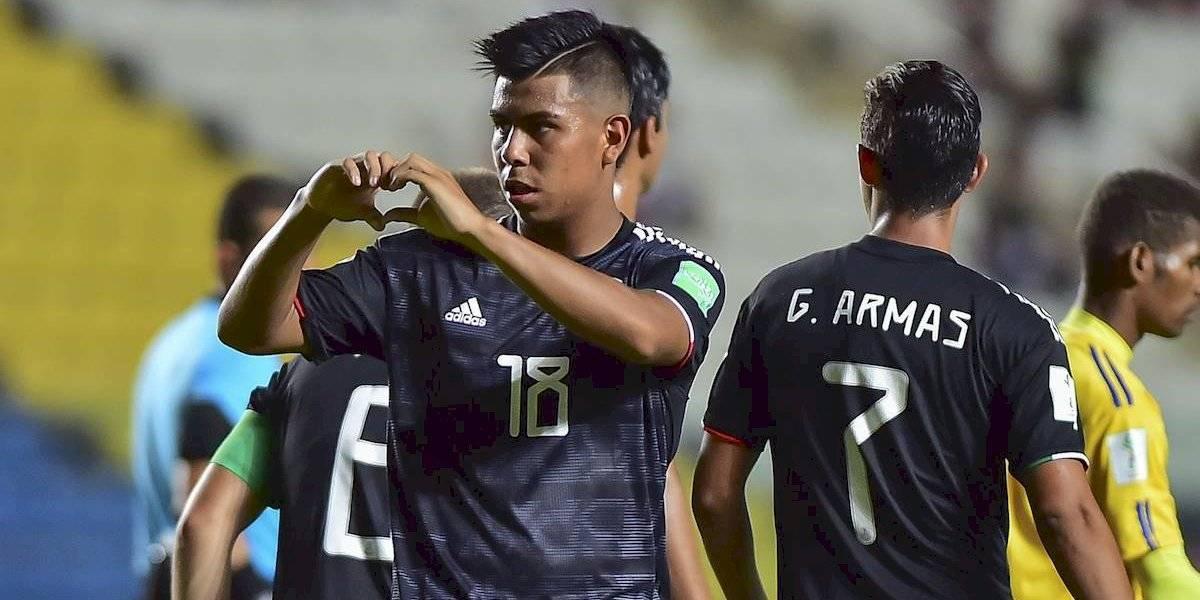 México avanza a octavos de final del Mundial Sub 17 tras golear a Islas Salomón