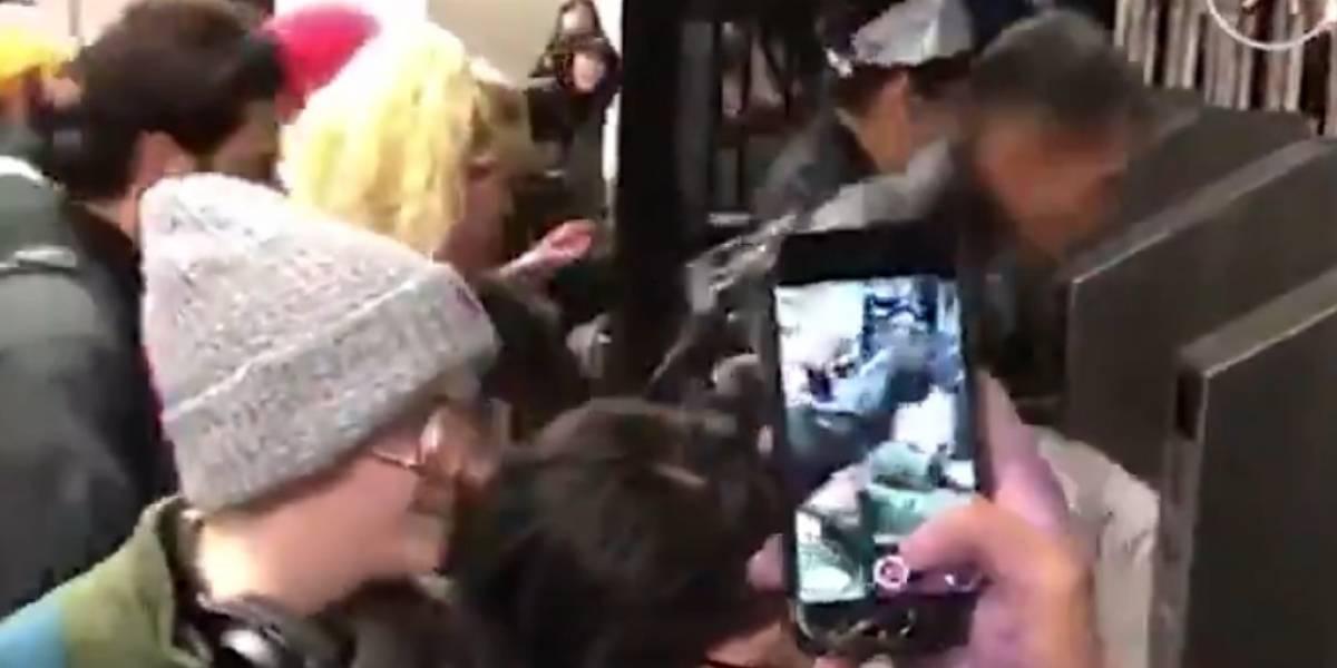 El video que detonó evasión masiva en Metro de Nueva York
