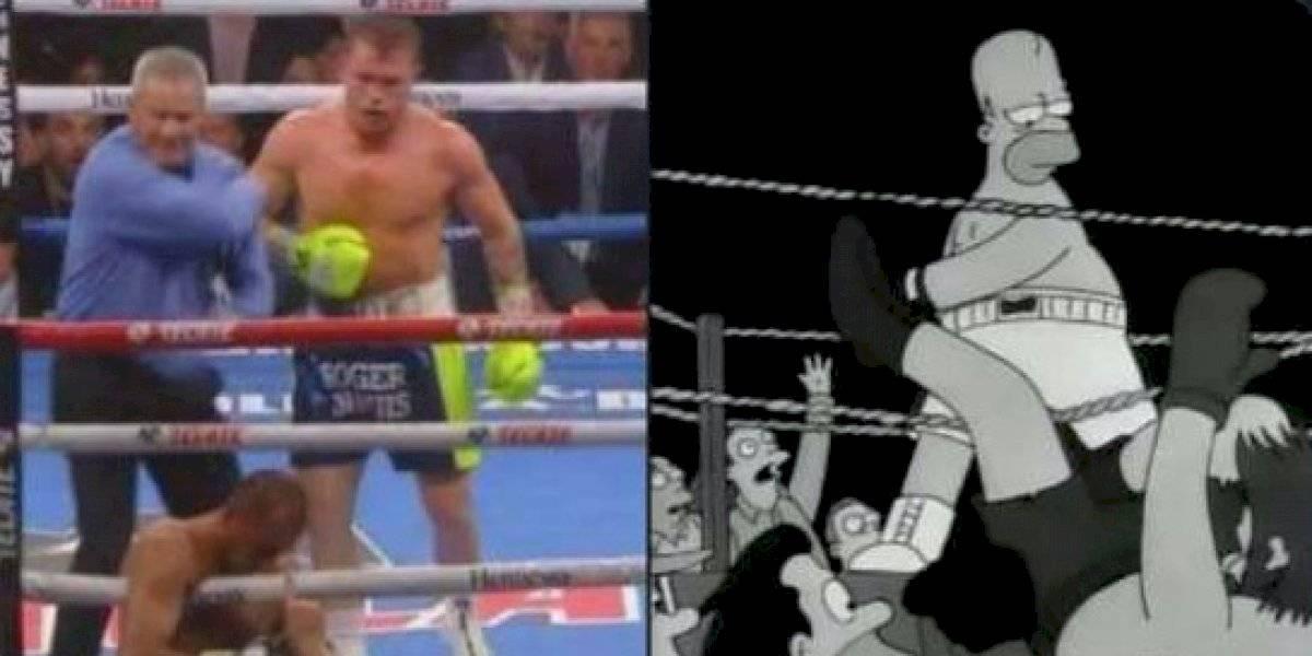 Los mejores memes de la victoria del 'Canelo' sobre Kovalev