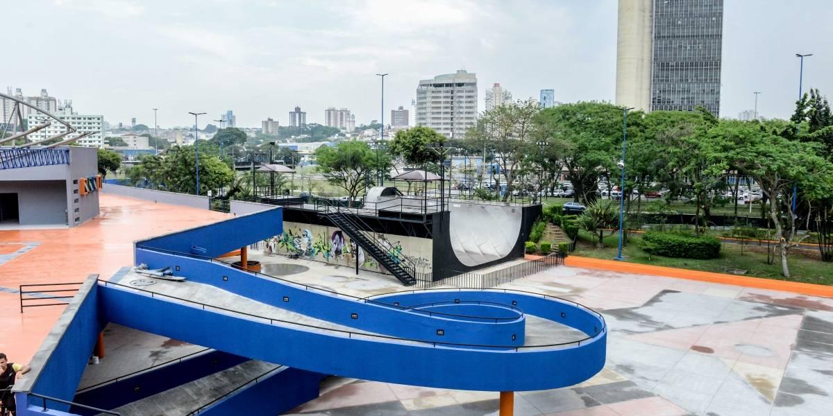 Em São Bernardo, parque da Juventude reabrirá pista de skate com padrões olímpicos