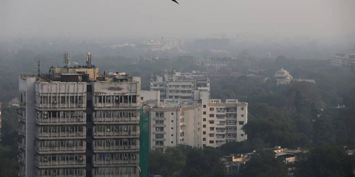 ¡Dónde está Greta! Nueva Delhi está sumida en una niebla tóxica