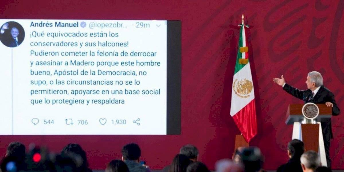 'Cuentas claras y chocolate espeso', explica AMLO tuits sobre golpe de Estado