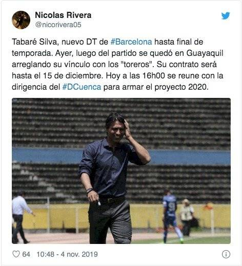 Andrés Espinoza tuit