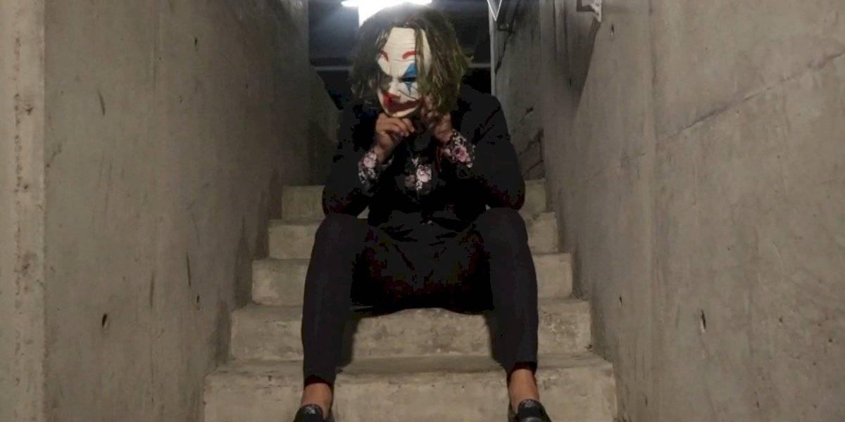 Ángel Reyna debuta como youtuber interpretando al 'joker'