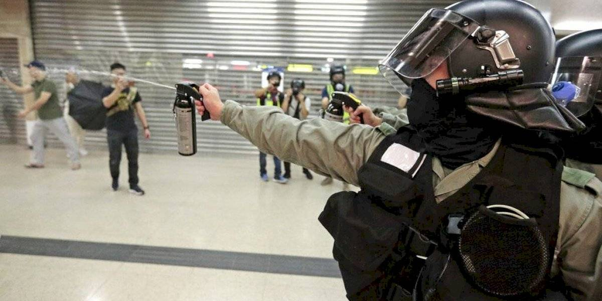 Arrestan hombre que apuñaló a personas en Hong Kong
