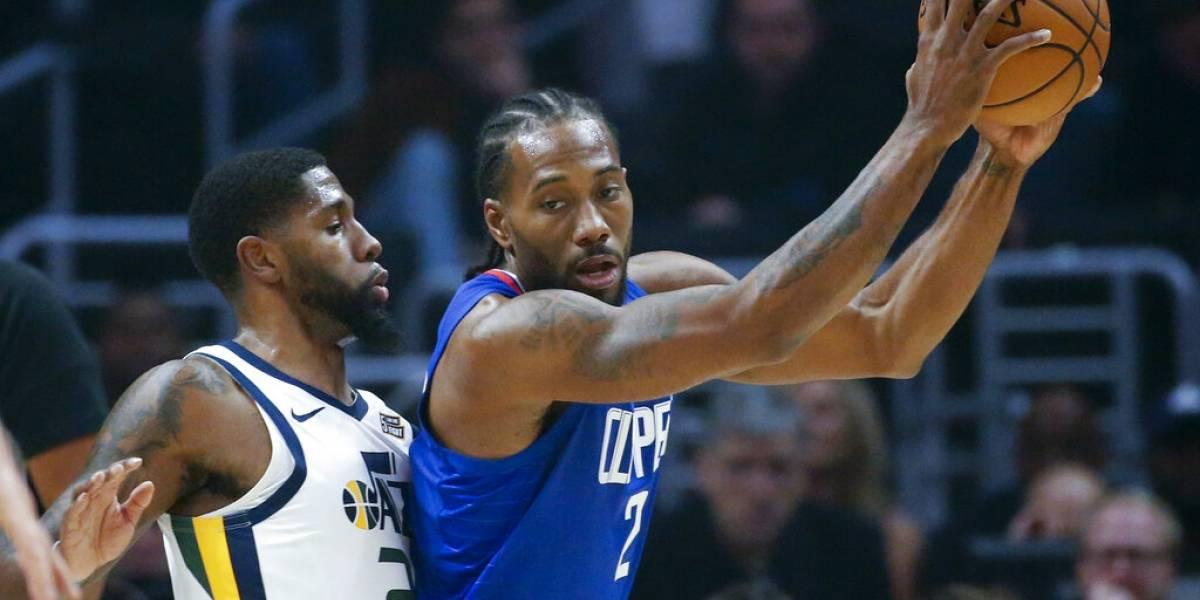Clippers sobreviven ante los Jazz con espectacular actuación de Leonard