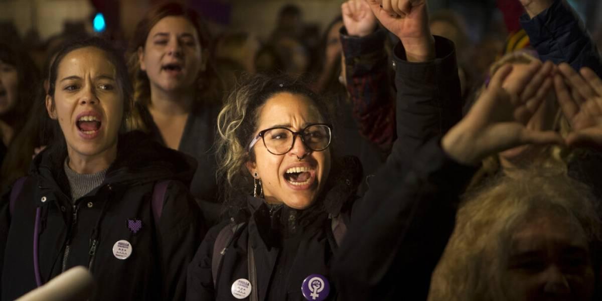Protestan por fallo sobre violación en grupo en España