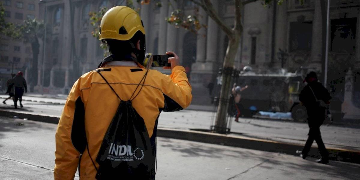 """Director (s) de INDH: """"Manifestaciones violentas en Plaza Italia son ilegítimas"""""""