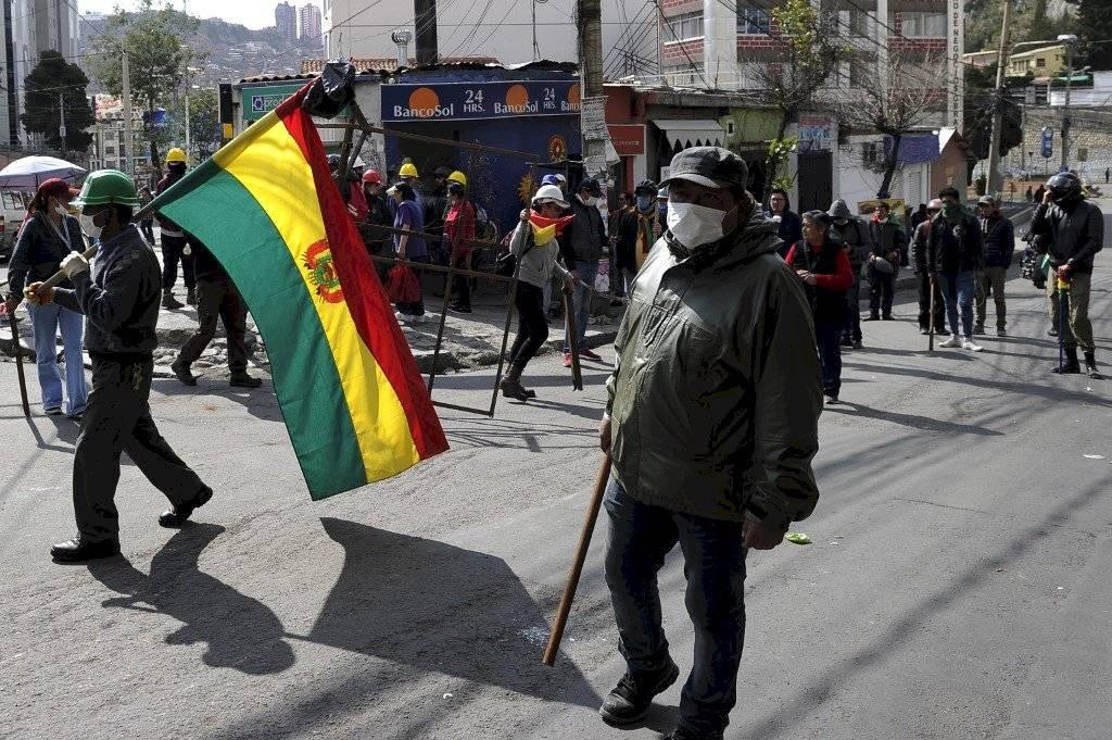 Bloqueos en Bolivia