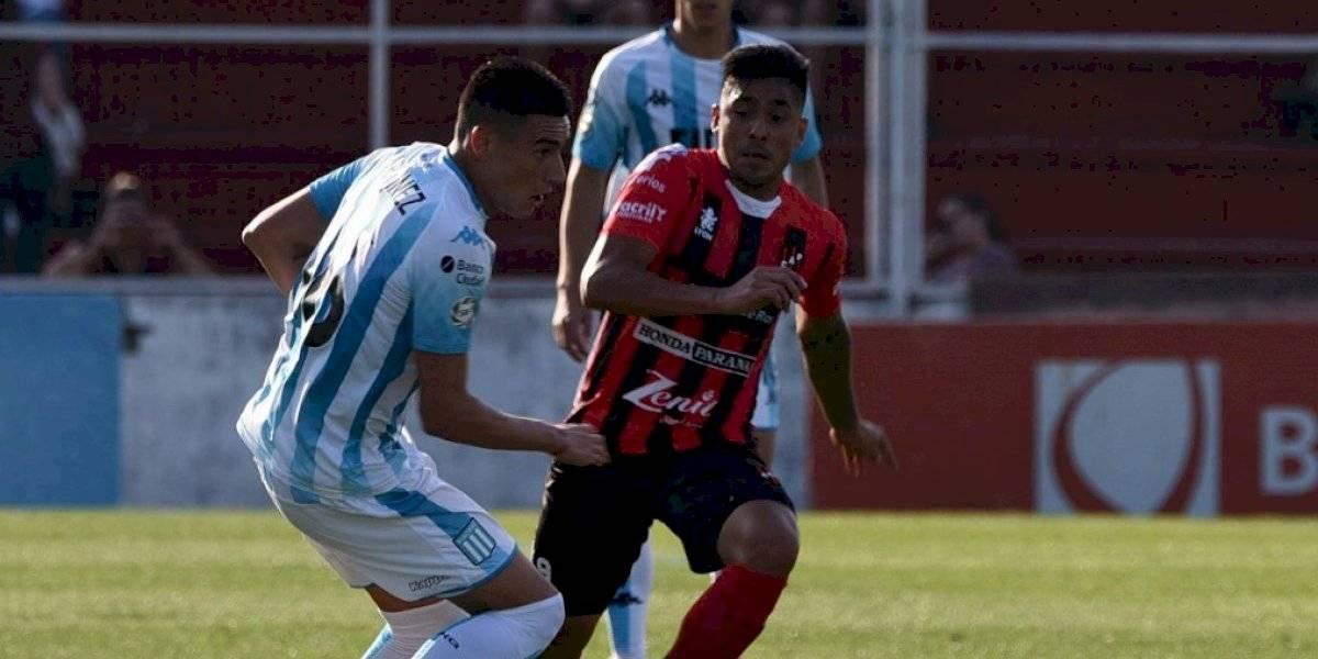 Racing de los chilenos solo consiguió un empate ante Patronato y se aleja de la punta de la Superliga Argentina