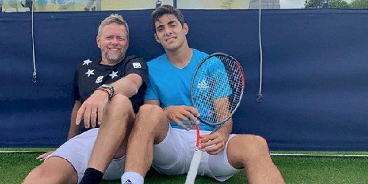 """Entrenador de Cristian Garin: """"Pulverizó la meta para este año, le tengo fe para la Copa Davis"""""""
