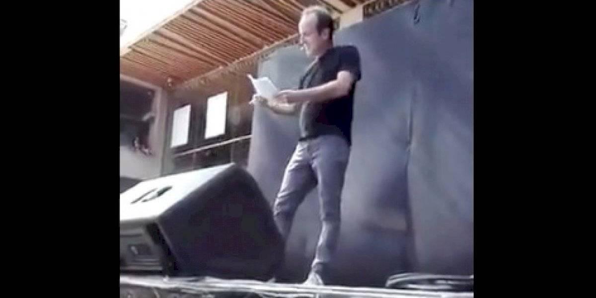 HI-LA-RAN-TE: así fue la rutina con la que Stefan Kramer imitó a Piñera y se rió de las burlas a Karol Dance en las protestas