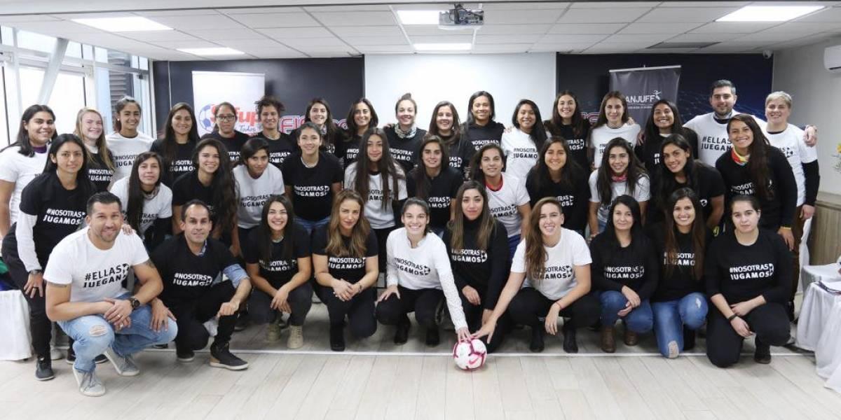 Histórico: jugadoras de fútbol femenino convocaron a su primer cabildo abierto