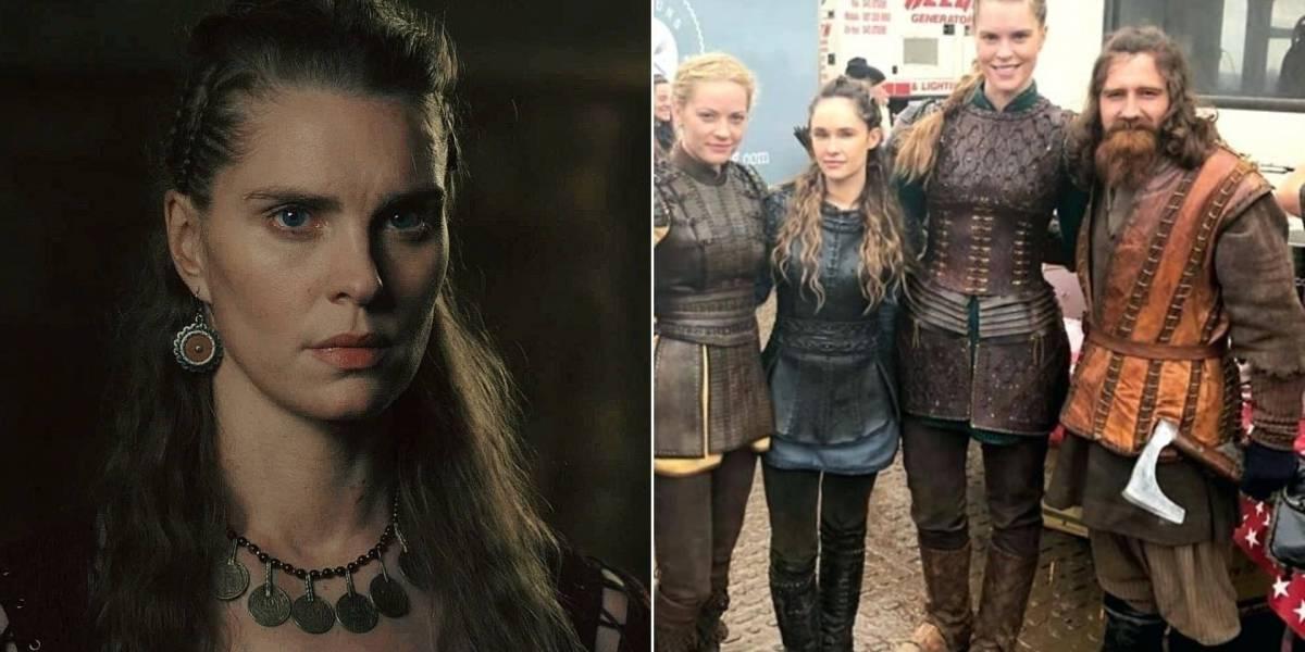 Vikings: Atriz responde comentários sobre foto da 6ª temporada com textão importante no Instagram