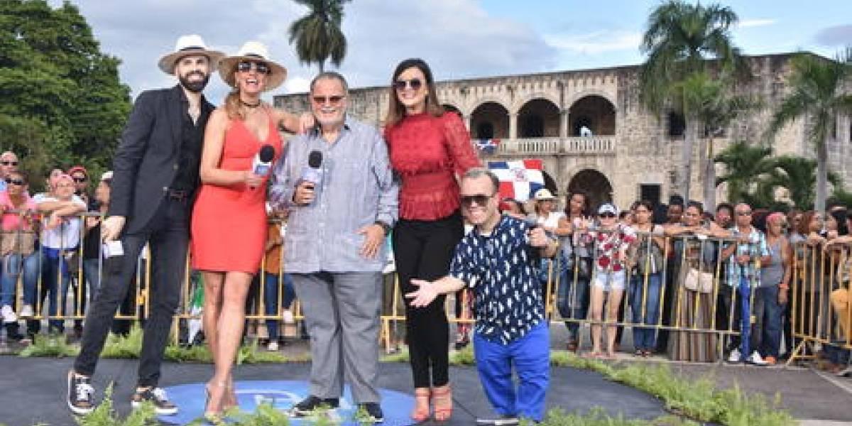 """Programa """"El Gordo y la Flaca"""" fue transmitido en vivo desde RD"""