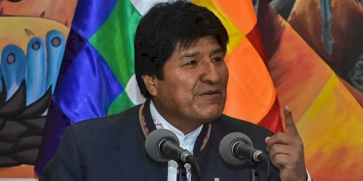 Helicóptero que trasladaba a Evo Morales sufrió un accidente
