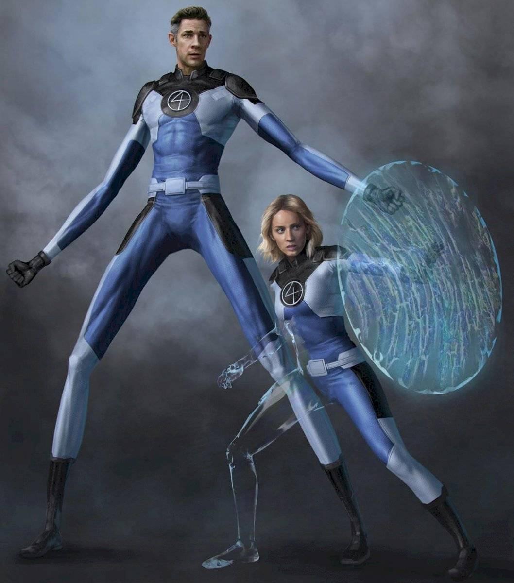 Fantastic Four en el MCU: ilustración de fan muestra cómo lucirían
