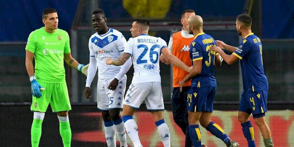 """Jefe de barra del Hellas Verona y el racismo contra Balotelli: """"Escuchó esos cánticos en su cabeza, es un payaso"""""""