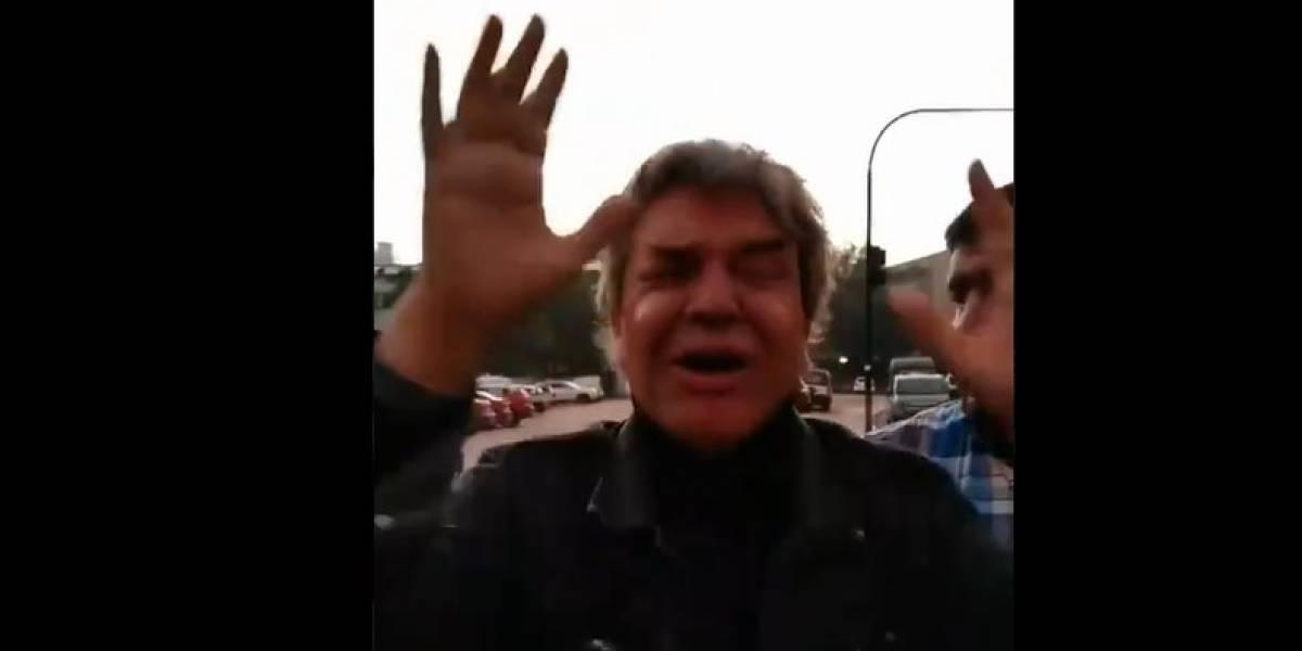 Golpean a Alejandro Goic en Plaza Italia: el actor intentó defender a una carabinera siendo agredida pero los mismos oficiales lo atacaron
