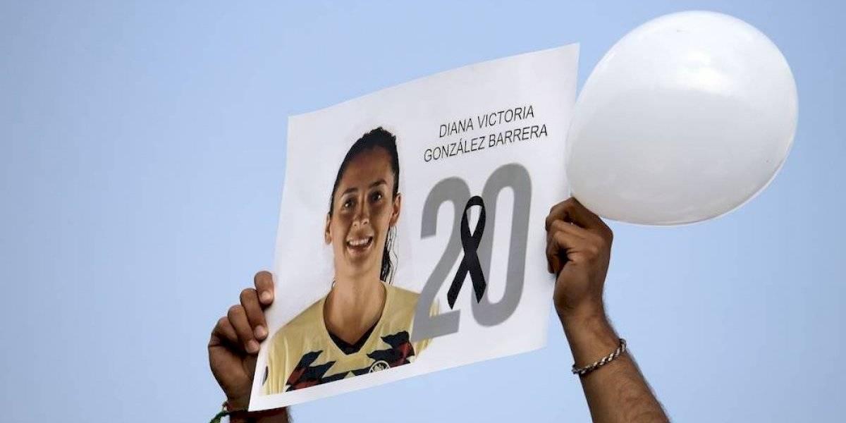 América femenil realiza emotivo homenaje a Diana González