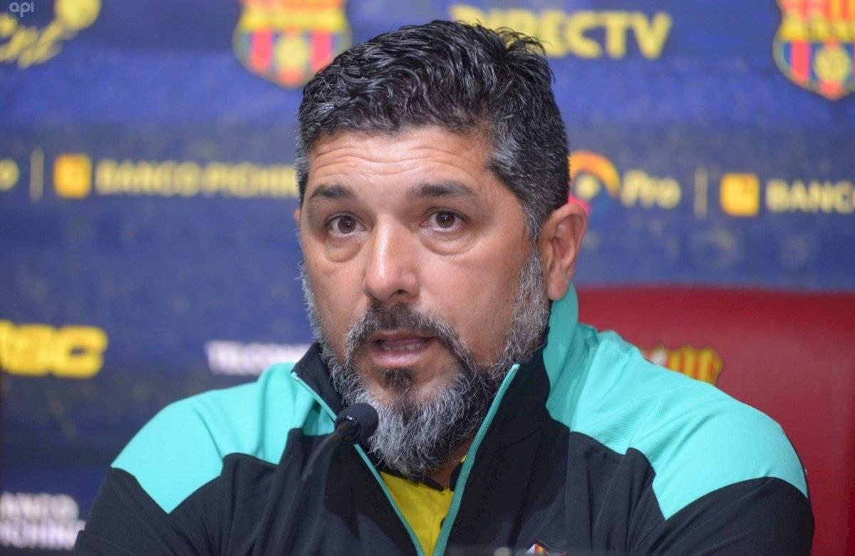 Leonardo Ramos, presentación durante la directiva de José Cevallos