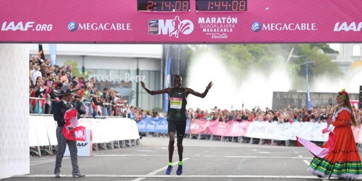 Dominan atletas africanos la edición 35 del Maratón Guadalajara