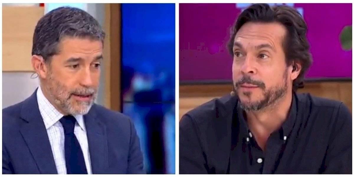 """Si quieres me callo toda la mañana"": Polo Ramírez y Mauricio Jürgensen protagonizan tensa discusión"