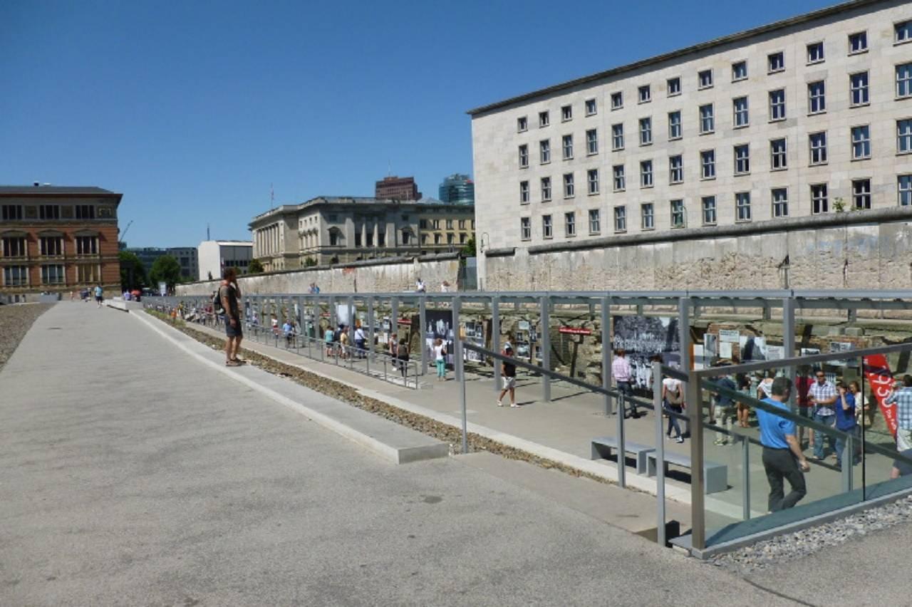 Así era el recorrido del Muro de Berlín: a 30 años de su caída su recuerdo sigue intacto