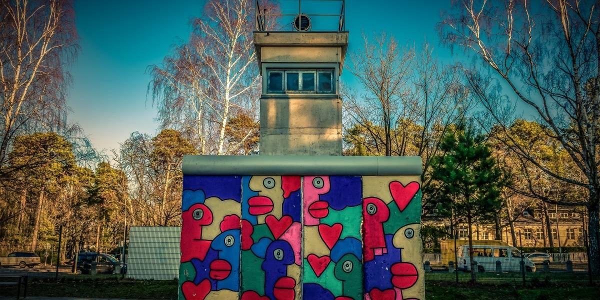 Así era el Muro de Berlín: a 30 años de su caída su recuerdo sigue intacto