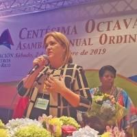 Presidenta de la AMPR no respalda aspirantes a la gobernación y exige mejor salario