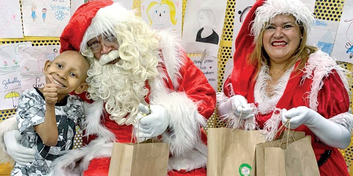 Cartas: Papai Noel vai ao Graac e lança campanha