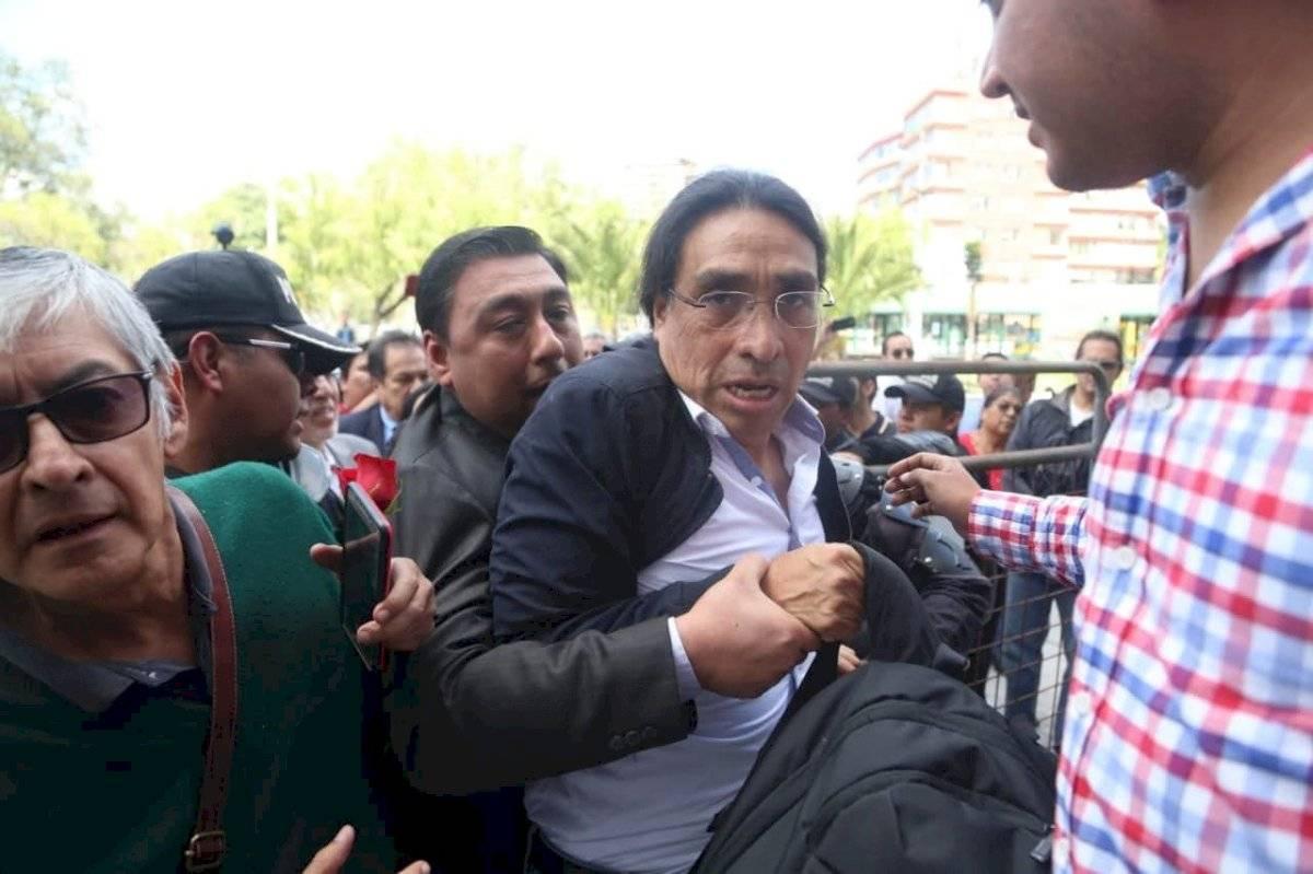 """Virgilio Hernández: """"Estamos viviendo una persecución política"""""""