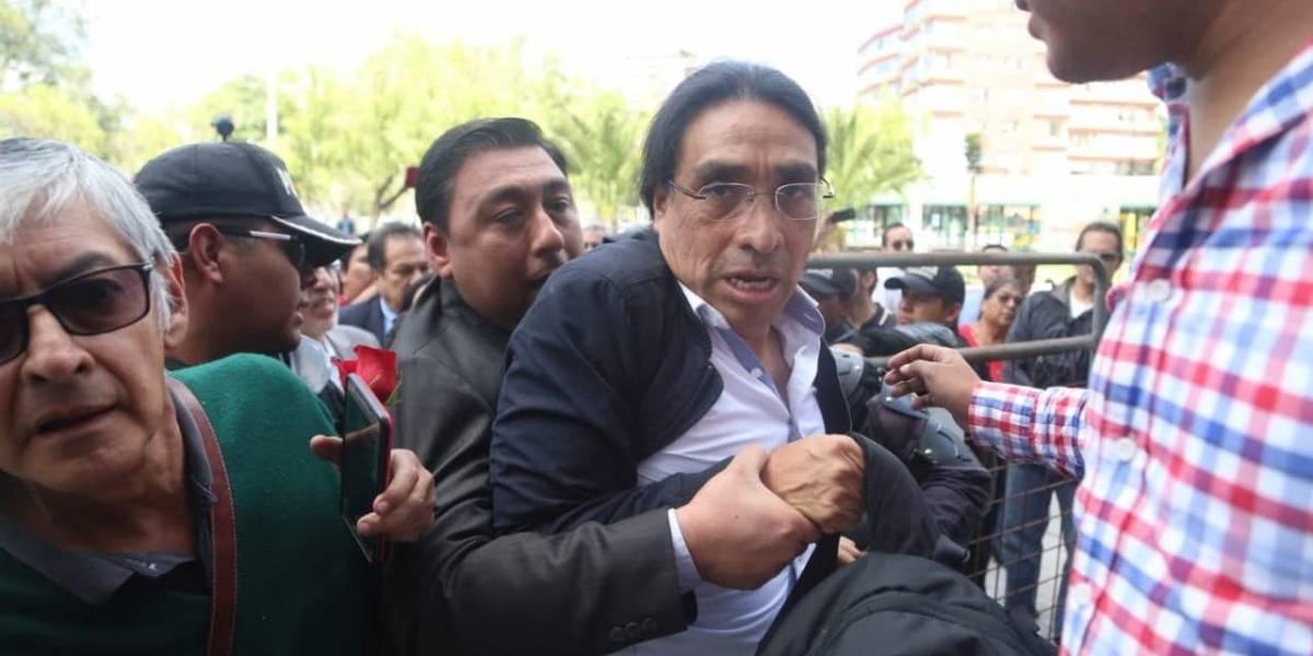 Virgilio Hernández fue liberado y declaró que su detención se trató de un error en el sistema