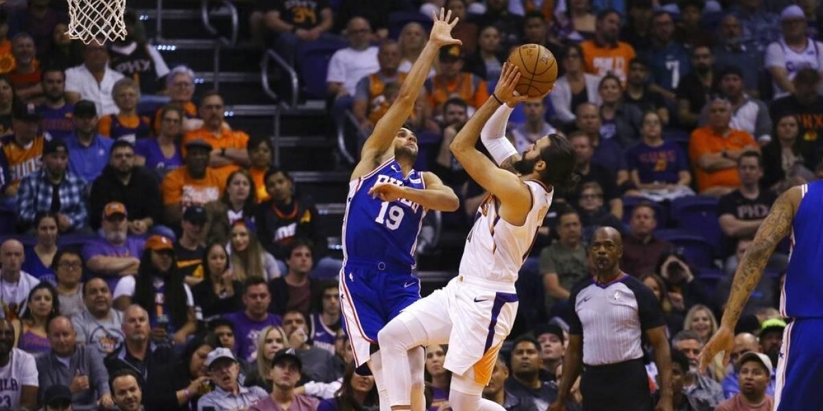 Suns le quitan el invicto a los Sixers