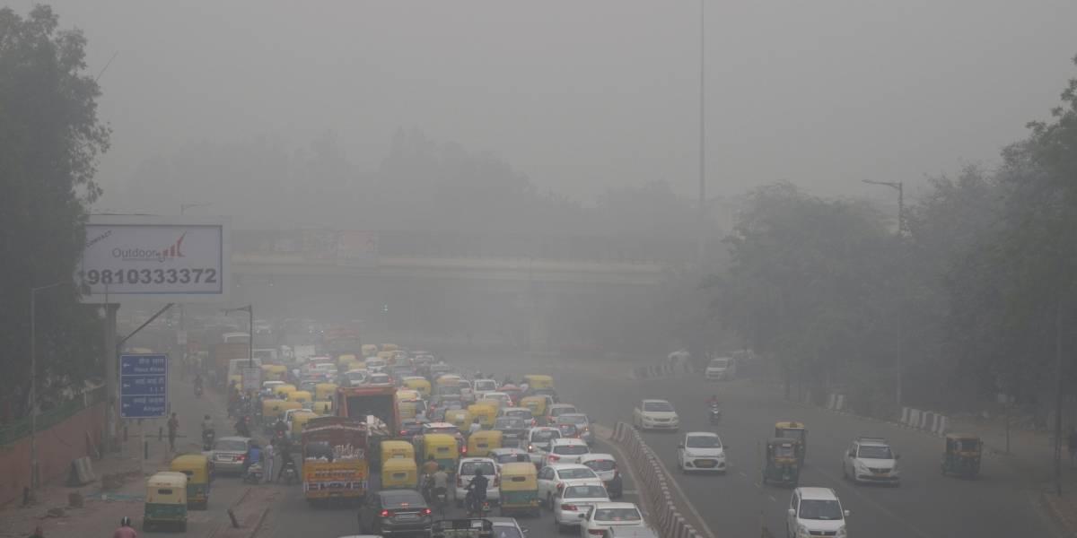 Manifestantes en la India exigen acciones contra severa contaminación