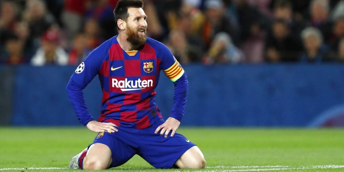 Barcelona no está dispuesto a negociar la salida de Messi