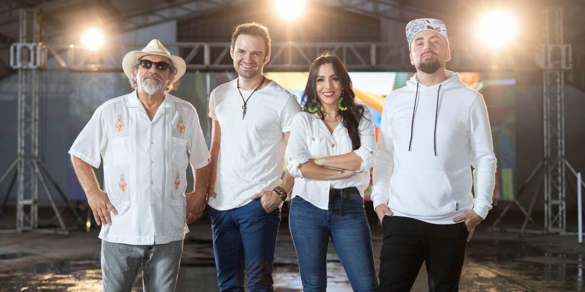 """CN reunió a talentos ecuatorianos para una nueva versión de """"Arriba mi Ecuador"""""""