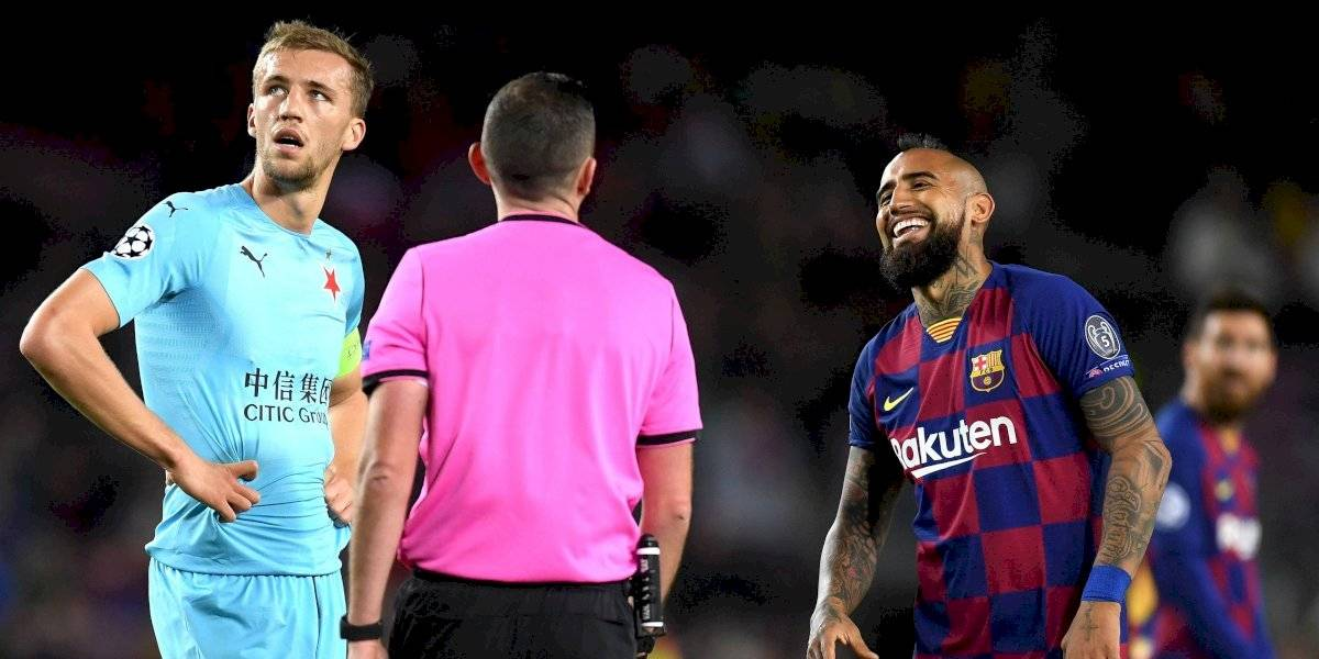 ¿Fue o no fue? El gol que reclama todo el Barcelona ante el humilde Slavia Praga (0-0)