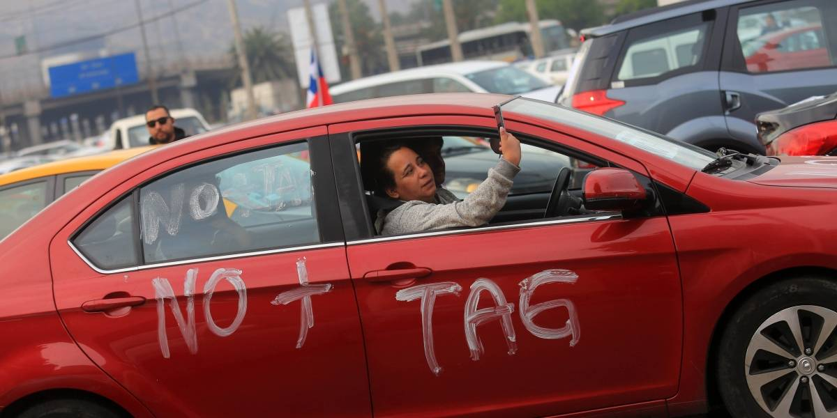 Movilización para este miércoles: Movimiento No+Tag no logró acuerdo con el Mop por tarifas de autopistas