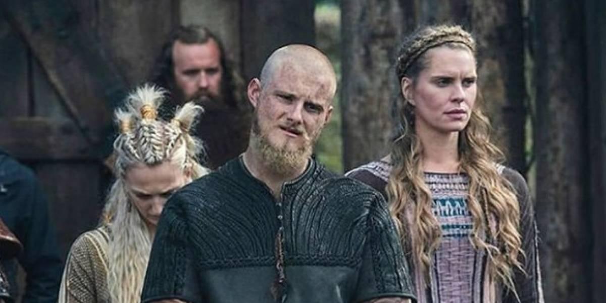 Bella actriz de Vikingos fue criticada por un detalle en su foto ¡Increíble!
