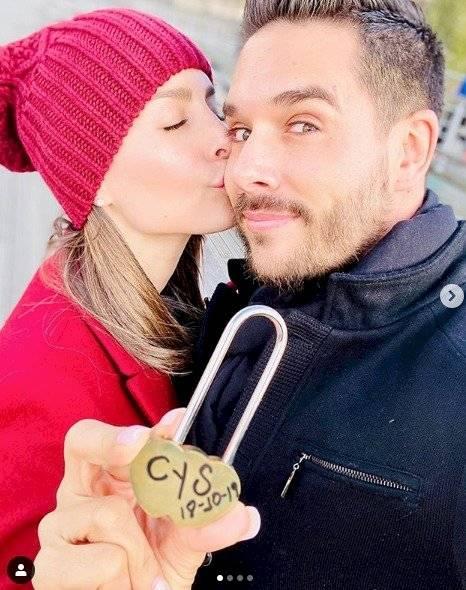 Carmen Villalobos y Sebastián Caicedo Instagram