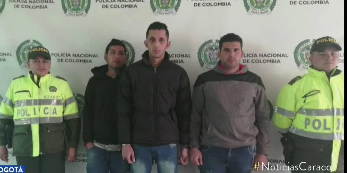 Estos tres hombres fueron deportados por robar en Bogotá