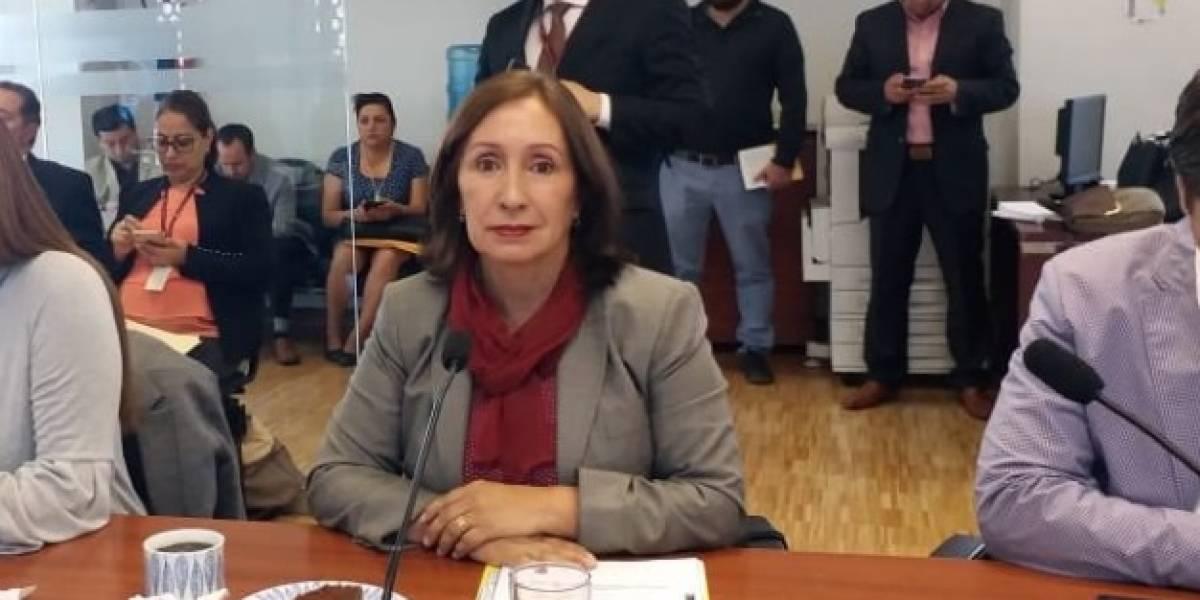 Secretaría Anticorrupción denuncia a exministra Doris Soliz por peculado