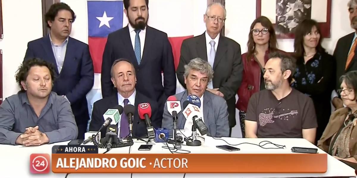 Actores interponen denuncia penal contra Piñera y Chadwick